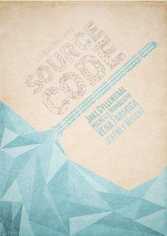 Source Code (2011) ~ Minimal Movie poster by Mads Svanegaard #amusementphile
