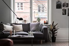 An inspiring apartment in Stockholm with a lot of nice decor & details | Styling by Jesper Laursen, Scandinavian Homes | Photo by Adam Helbaoui, Kronfoto for broker SkandiaMäklarna, Stockholm Follow...