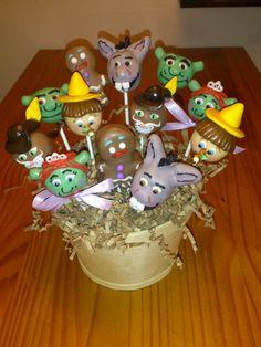 Shrek Cake Pops!!