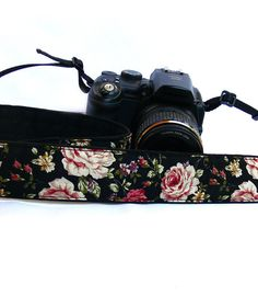 dSLR Camera Strap. Floral Camera Strap. Women accessories on Wanelo