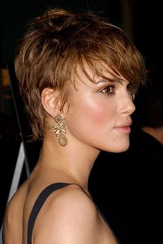 Kiera Knightley | The 18 Greatest Celebrity Pixie Cuts Of The Past Decade http://www.buzzfeed.com/emilyhennen/the-18-greatest-celebrity-pixie-cuts-of-the-past-decade