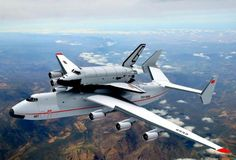 The Antonov An-225 is the world's largest aeroplane and initially designed for carrying the Buran space shuttle .. for more images visit http://www.aerospace-technology.com/contractors/airlift/