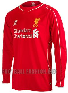 liverpool-2014-2015-warrior-home-football-kit (22) by Football Fashion, via Flickr
