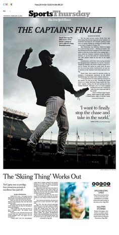 New York Times sports section