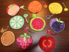 Machine Embroidery Projects This video will show how to make Machine Embroidered Coasters and Wine Charms by Anita Goodesign. - This video will show how to make Machine Embroidered Coasters and Wine Charms by Anita Goodesign. Machine Embroidery Projects, Embroidery Software, Embroidery Patterns, Crafts To Make, Fun Crafts, Crafts For Kids, Diy Kitchen Projects, Fun Projects, Anita Goodesign