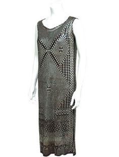 1920s Assuit dress.