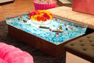 Good Icarly Water Table With Floating Boats