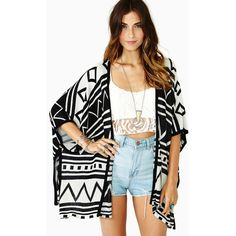 Morocco Knit Cardi found on Polyvore