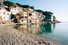 Sa Tuna Beach in Begur, Costa Brava, Girona prov. Catalonia.