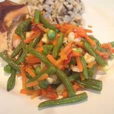 PammiesPantry.com | Green Beans, Carrots, and Peas
