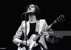 Dave Davies of The Kinks performing on stage, London, United Kingdom, 1974.