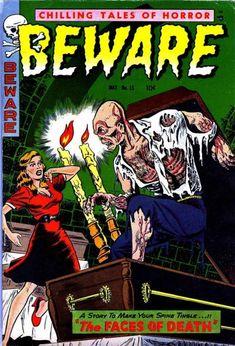 Cover for Beware (Trojan Magazines, 1953 series) #15 [3]
