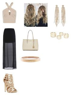 """""""Untitled #102"""" by haterz18 on Polyvore featuring MICHAEL Michael Kors, Chanel, Charlotte Russe, Steve Madden, women's clothing, women, female, woman, misses and juniors"""