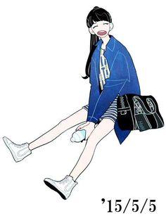 Character Design References, Character Art, Art Sketches, Art Drawings, Chibi, Girl Sketch, Pretty Art, Character Design Inspiration, Cartoon Art