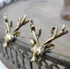 Deer Deer earrings- Hert oorbellen - koop online op shoplikesuze
