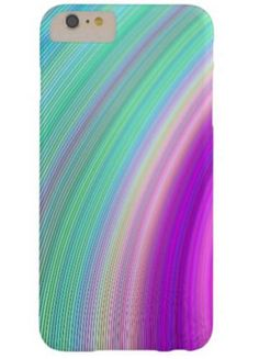 Radiance Barely There iPhone 6 Plus Case $49.65 *** Abstract colorful curved stripe design *** radience - colorful - digital design - art - color art - spectrum - beautiful - sky - dream - fractal - pretty - colors - multicolored - iPhone case
