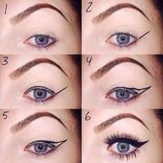 Get the look you've always wanted and perfect the classic winged eye liner!