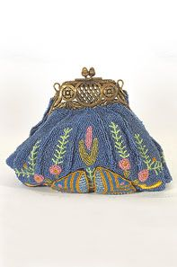 Victorian-style bag, circa 1910.