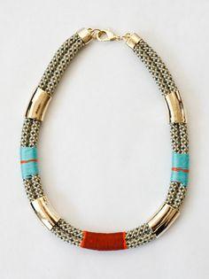 OGJM x VPL Fosil necklace