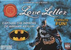 Batman Love Letter Game Review Box