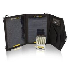 Goal Zero 19010 Guide 10 Plus Small Adventure Kit  --includes the Nomad 7, guide 10, 4 AA batteries, and AAA insert  $120