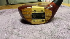 Tommy Armour MacGregor Tourney 653 Eye O Matic Driver Persimmon 1 Wood 1955