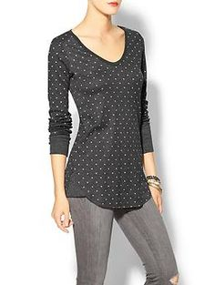 Free People Dotted Printed Thermal | Piperlime