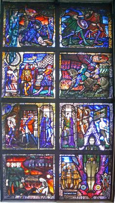 I want to learn more about Harry Clarke's work Stained Glass Paint, Stained Glass Windows, Chur Switzerland, Harry Clarke, Sea To Shining Sea, Grisaille, Irish Art, Florida Usa, Melting Pot