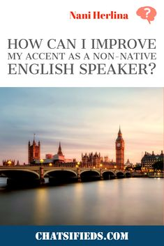 As a non-native English speaker, how can I improve my accent? We learn how these four useful and helpful English speaking tips had helped Sophie improved her English accent as a non-native English speaker. English Time, English Study, Learn English, Dry Sense Of Humor, British Books, English Speaking Skills, Moving To The Uk, British Accent, Improve Your English