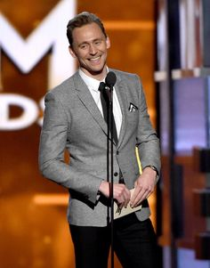Tom Hiddleston at Country Music Awards 2016