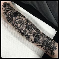"""My last tattoo @akaberlin :( lovely Melanie's arm. Thank you so much for having me, it's been a total pleasure."""