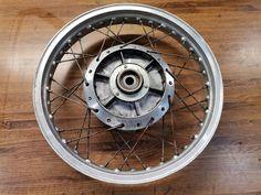 Vintage Motorcycle Parts, Aluminum Rims, Hub Caps