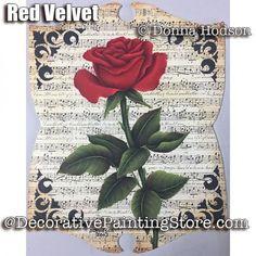 Red Velvet ePattern - Donna Hodson - PDF DOWNLOAD