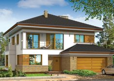 Projekt domu Opal (MG Projekt Pracownia Architektoniczna)