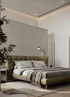 Residential Architecture, Interior Architecture, Room Interior, Interior Design, Open Bathroom, Open Wardrobe, Bed Back, Master Bedroom Design, Bed Design