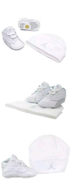119228f691d Baby Shoes 147285: Infant Nike Air Jordan Retro 13 Gift Pack Crib (Cb) White  552664-100 Baby Sz 1C -> BUY IT NOW ONLY: $49.99 on eBay!