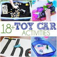 Toy Car Activities - I Heart Arts n Crafts 3 Year Old Activities, Creative Activities, Craft Activities For Kids, Infant Activities, Learning Activities, Crafts For Kids, Craft Ideas, Toddler Fun, Toddler Learning