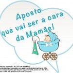 Plaquinhas Divertidas Chá de Bebê Menino 7 Smurfs, Children, Kids, Baby Shower, Comics, Bernardo, Gabriel, Bingo, Yoga