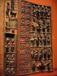 Ikere Palace door (Nigeria) by dfb, via Flickr