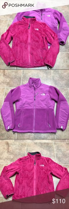 The North Face Jacket Coat Bundle Brand: The North Face Size: Small both Color: Pink Retail: $250 Condition: Very good. Pre loved so they are not perfect.   ••• Warm winter/fall jackets. Denali fleece zip up coats. Very soft. ••• Selling for $50 each.   ✨ Check out my closet for more cute items!  I ALWAYS DISCOUNT BUNDLES!  ✨ Brands in my closet include: H&M, Forever 21, Victoria's secret pink, Nike, Urban Outfitters, Pacsun, LF, Brandy Melville, topshop, Free People, hollister, american…