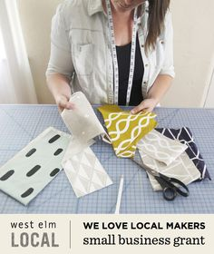 Cotton & Flax is a finalist for a grant from West Elm! Help a dedicated artist grow her business by voting for Cotton & Flax here: www.westelmlocalgrant.com