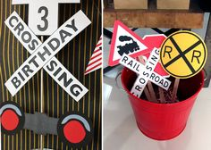 Train Birthday Party Decorations