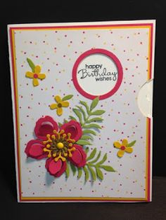 Botanical Builder, View Master Technique, Birthday Card, Stampin' Up!, Rubber Stamping, Handmade Cards, 2 more images on the website www.starlightstamper.com