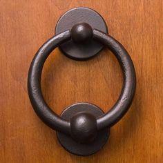 3 Solid Bronze Ring Door Knocker with Bronze Patina Finish for sale online Bronze Patina, Bronze Ring, Patina Finish, Brass, Door Knockers Unique, Lion Door Knocker, Shop Doors, Door Detail, Traditional Doors