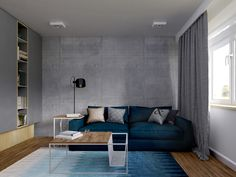 Interior visualizations on Behance