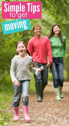 Choosing a more active lifestyle is simply about changing your habits. Use these simple tips to get active and healthy with your family.