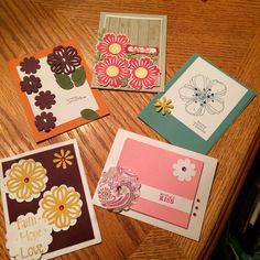 Beginners cards by Heidi
