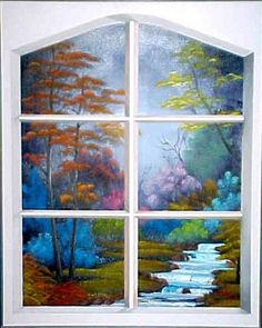 1000 images about window painting on pinterest window for Painting on glass windows with acrylics