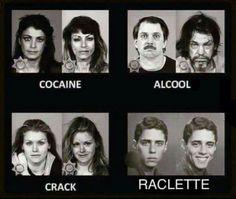ah une bonne raclette - Image drôle - Société
