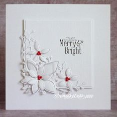 Poinsettia Corner by Debby4000 - Cards and Paper Crafts at Splitcoaststampers
